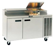 Delfield 18672PTBM 72 inch Refrigerated Pizza Prep Table