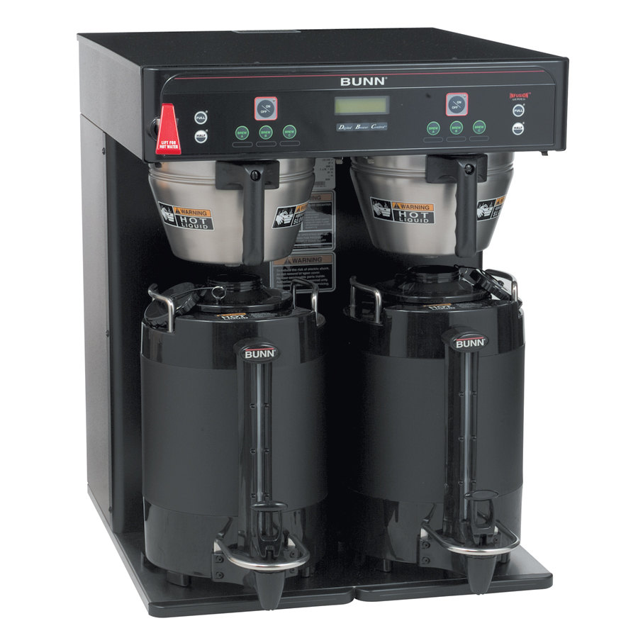 Bunn Icb Twin Dual Infusion Series Black Coffee