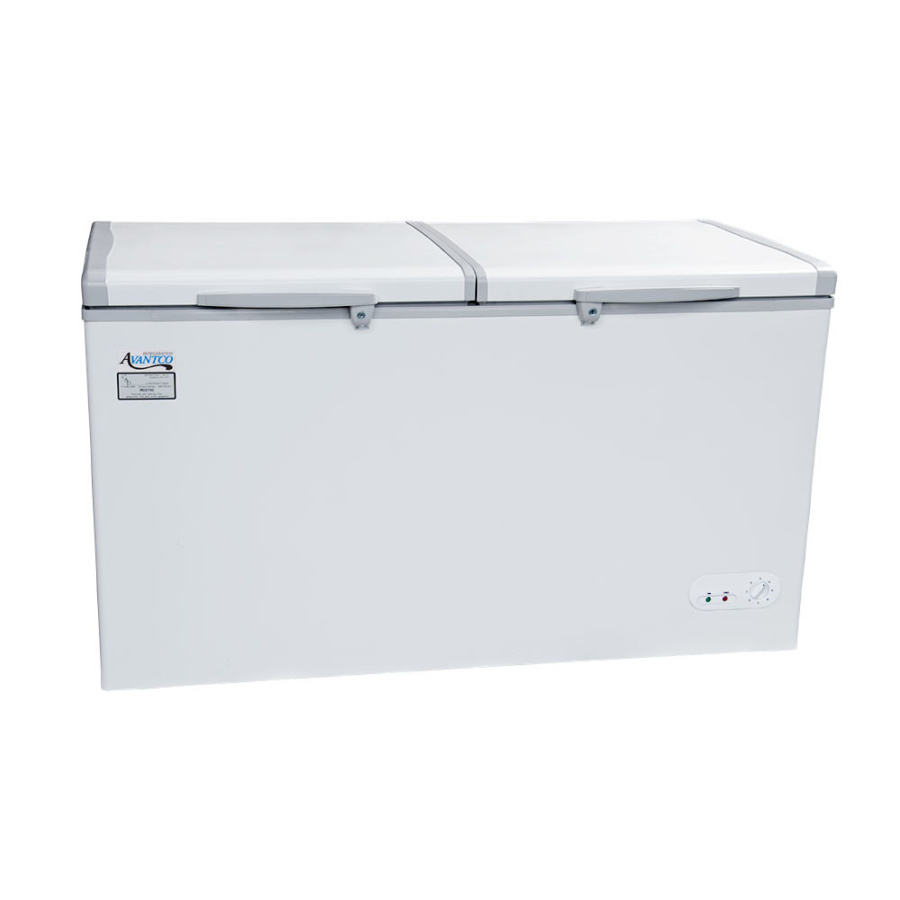 how to clean the bottom of a chest freezer