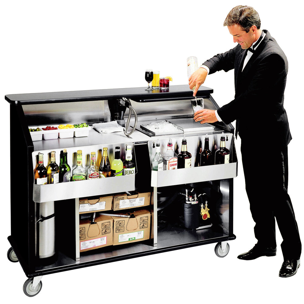 Lakeside 889 63 1 2 stainless steel portable bar with - Image of bar ...