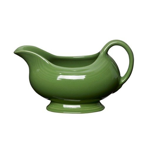 Homer Laughlin 486324 Fiesta Shamrock 18.5 oz. Sauce Boat - 4 / Case