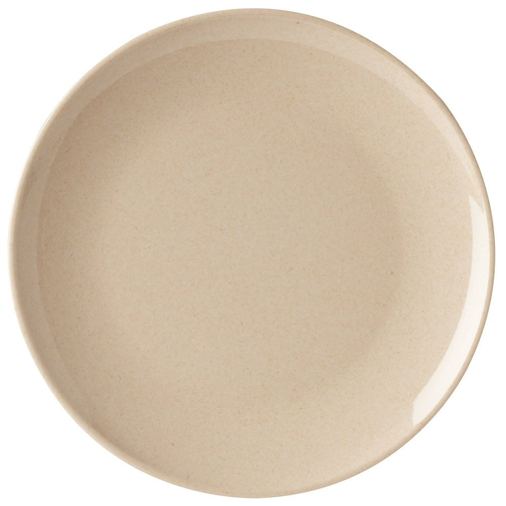 "GET BAM-12075 BambooMel 10 1/2"" Round Plate - 12/Case"