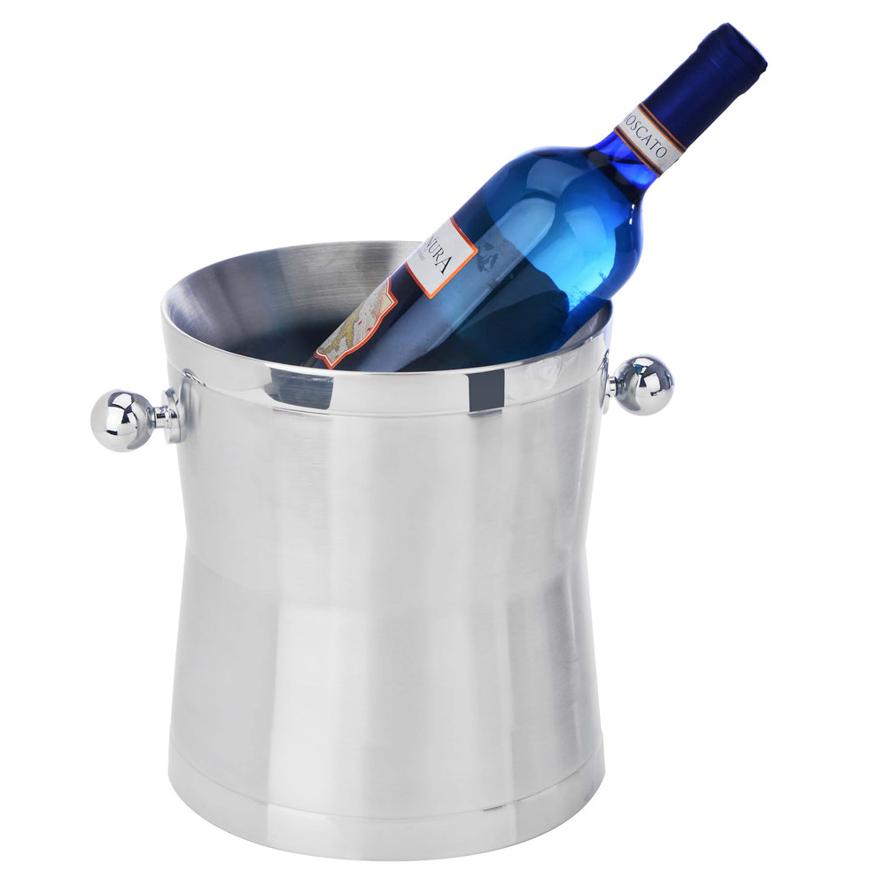 Eastern Tabletop 7940 Stainless Steel Double Wall Insulated Wine Bucket.  Main Picture