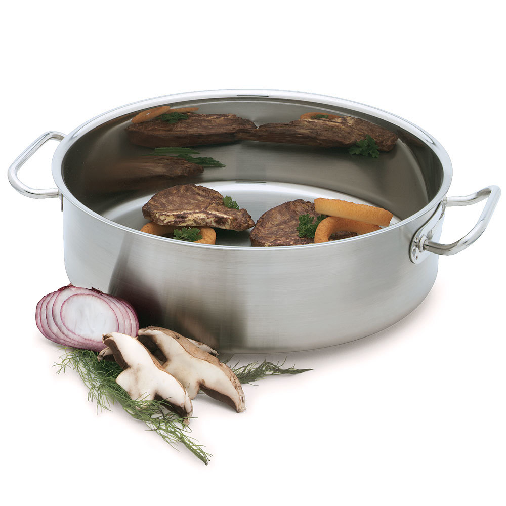 Vollrath 47760 Intrigue 12 Qt. Brazier Pan