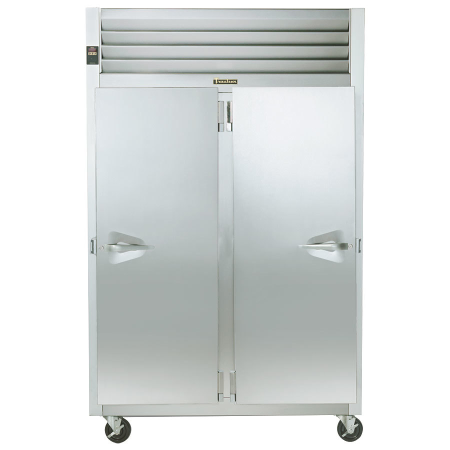 "Traulsen G22011 52"" G Series Two Section Solid Door Reach in Freezer - 46 cu. ft."