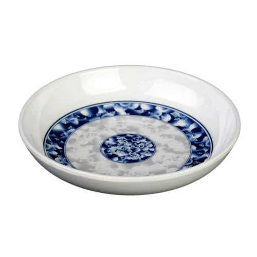 3 oz. Blue Dragon Melamine Sauce Dish 3 7/8 inch 60 / Pack