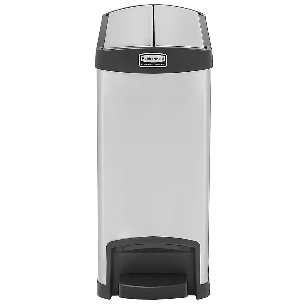 Image Result For Rubbermaid Stainless Steel Trash Can