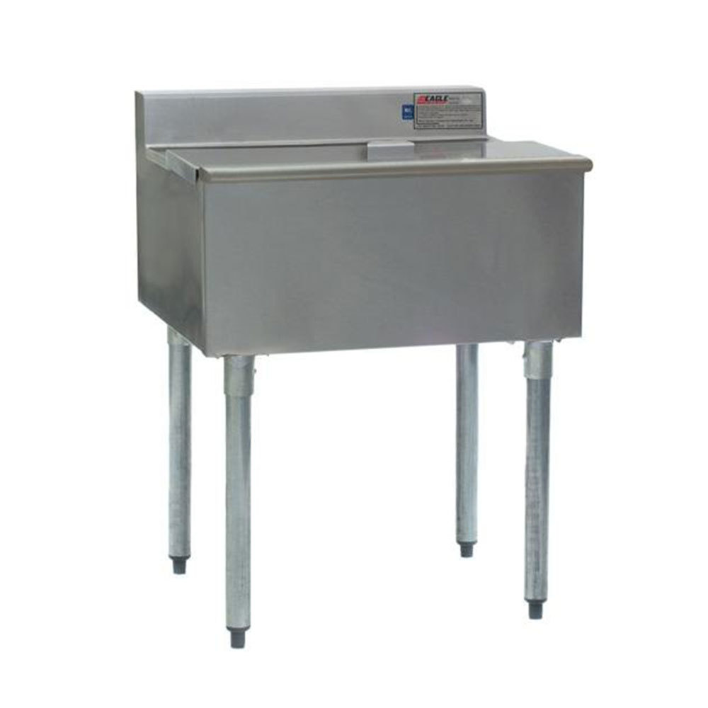 """Eagle Group BM62-22R-7 62"""" Blender Module with Center Mount 16"""" x 20"""" Ice Chest, Right Mount Drain Board, and Cold Plate at Sears.com"""