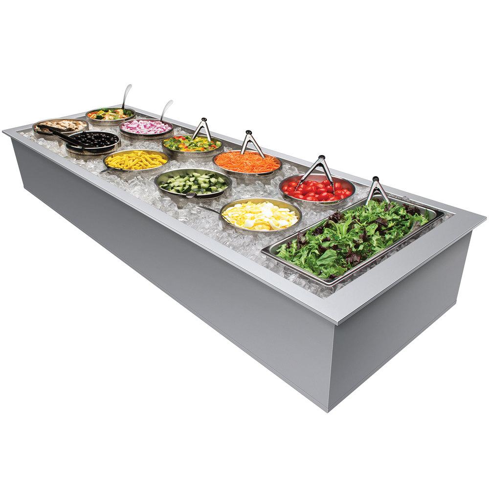 Hatco Iwb 6 Six Pan Drop In Ice Cooled Food Well