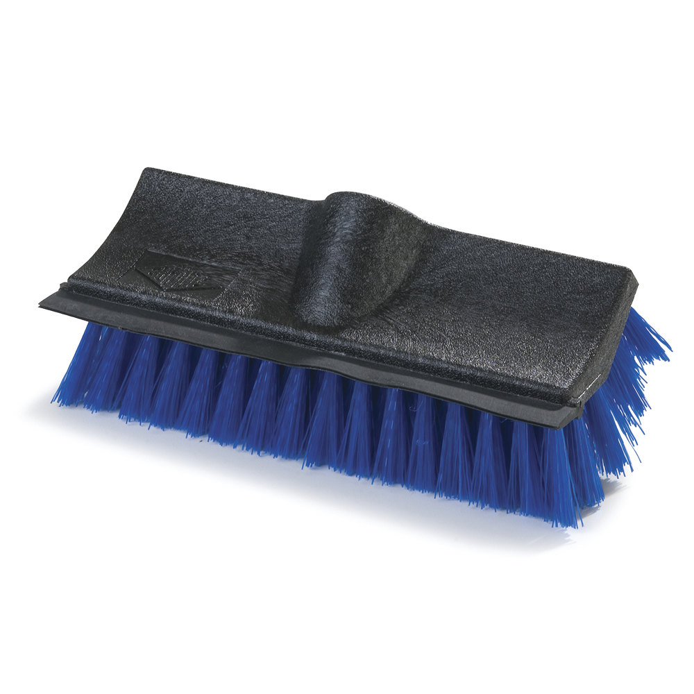 Carlisle 36190 10 inch Hi-Lo Floor Scrub Brush with Squeegee