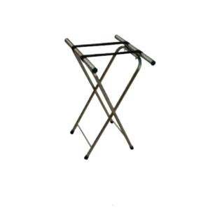 Aarco Chrome Tray Stand - 31""