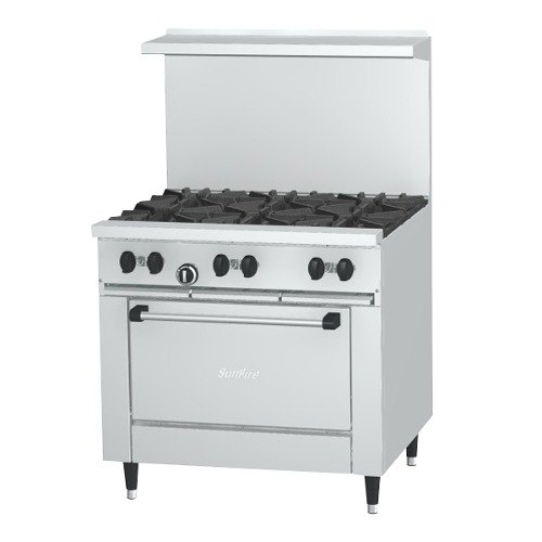 dacor 6 burner gas stove top 48 thor kitchen range with double oven and griddle natural garland standard