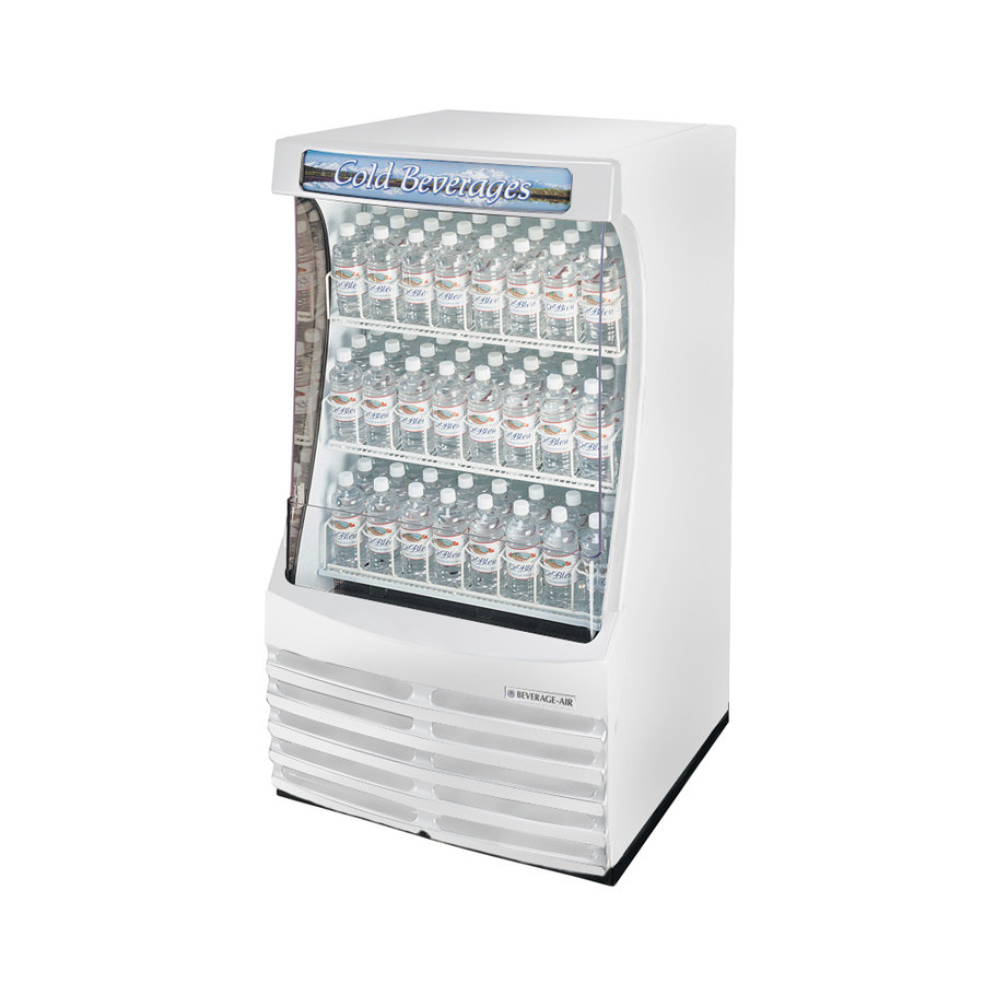 Beverage Air (Bev Air) BZ13-1-W White Breeze Open Display Case 30 inch