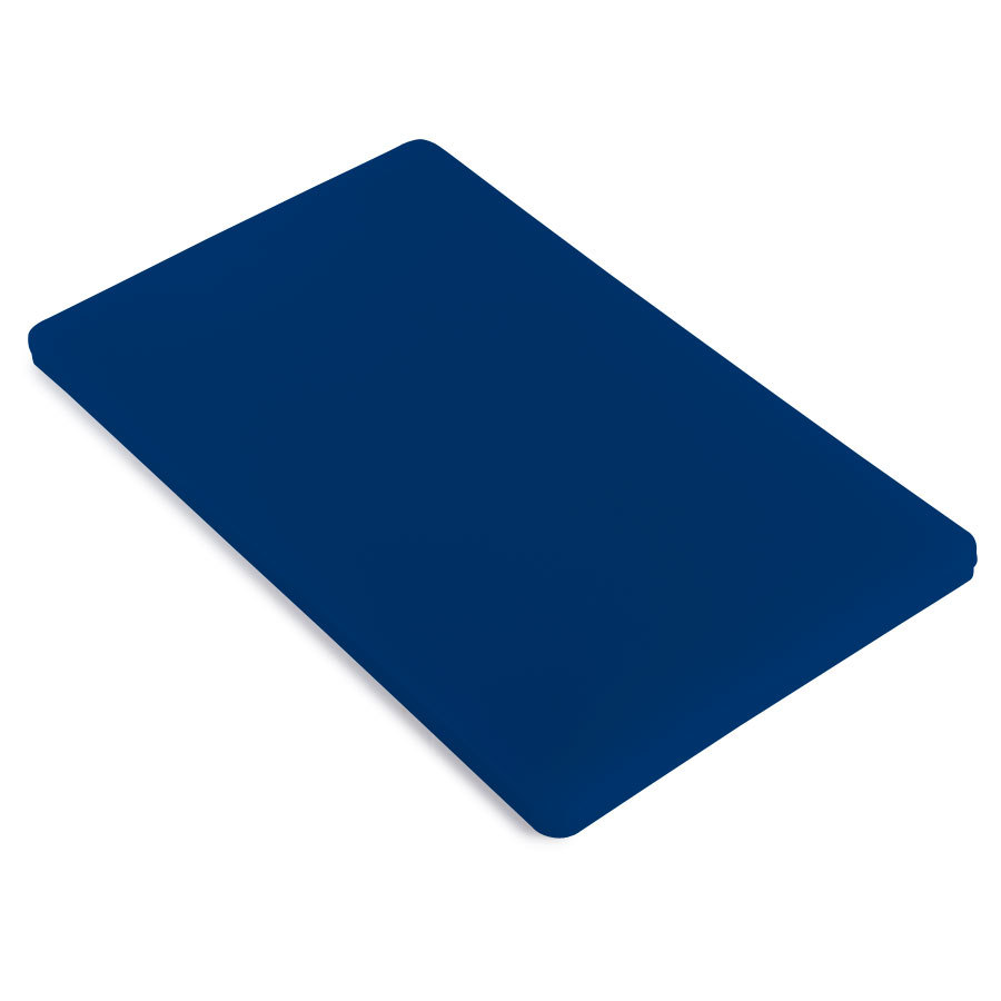 12 inch x 18 inch x 1/2 inch Cutting Board Blue