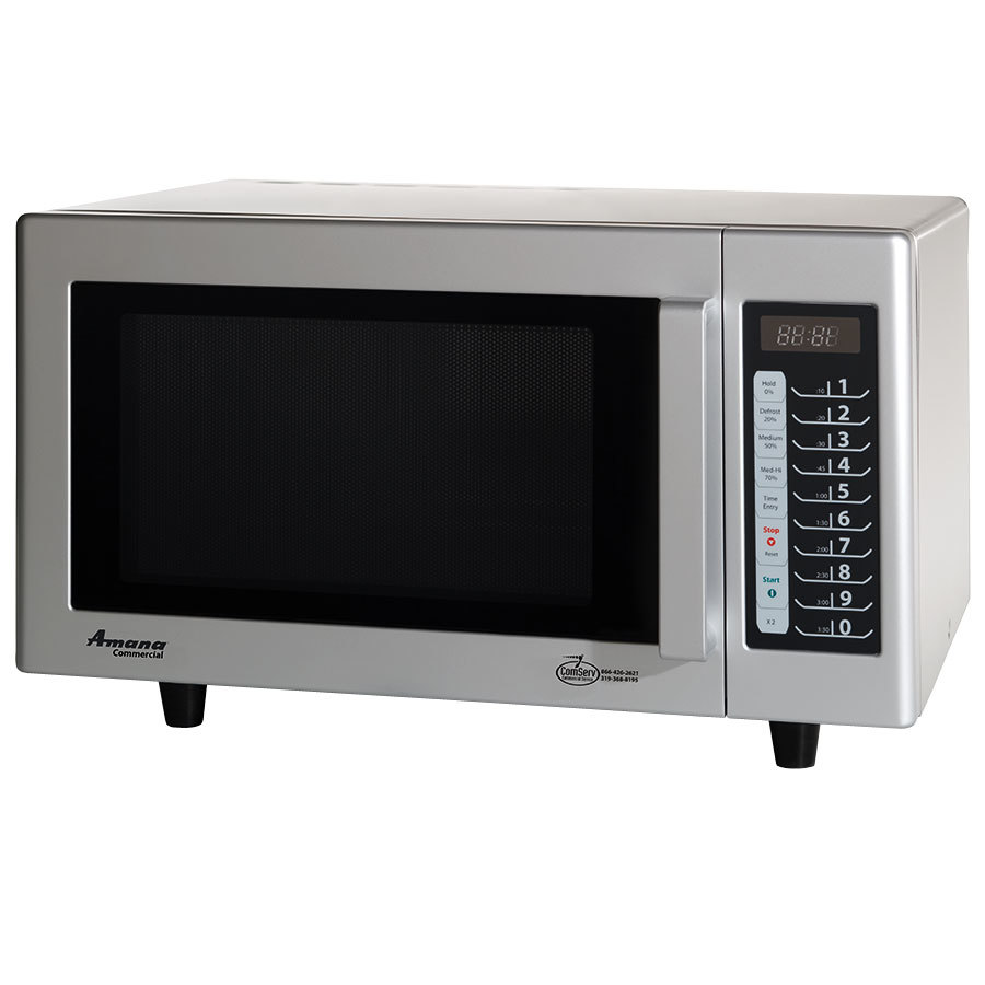 Amana Commercial Microwaves Amana RMS10T 1000 Watt Commercial Microwave with Push Button Controls - 120V at Sears.com