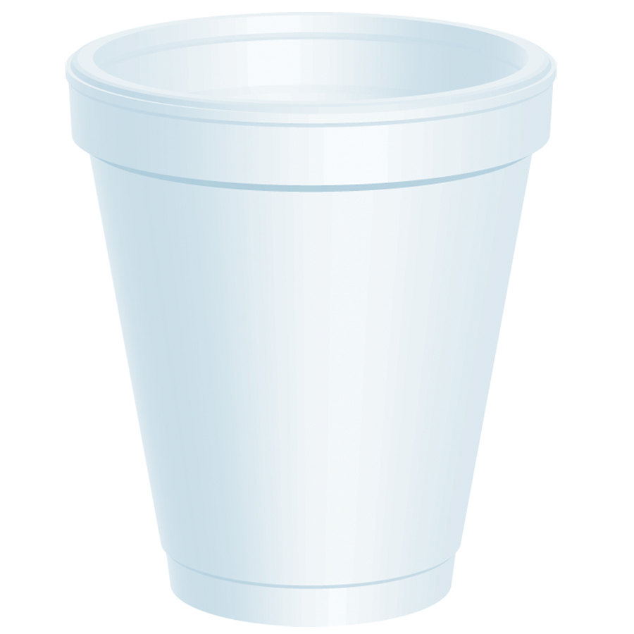 Dart 6J6 6 oz. Customizable White Foam Cup 1000/Case at Sears.com