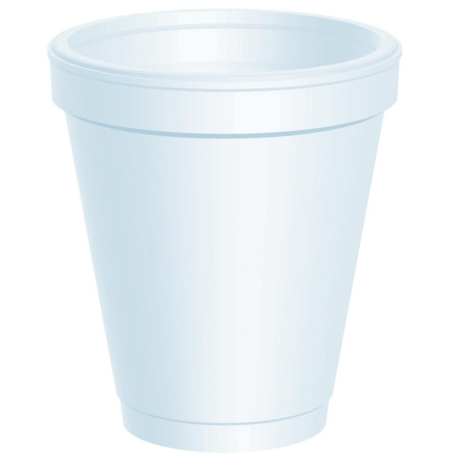 Dart 6J6 6 oz. Customizable White Foam Cup 1000/Case at Sears.com