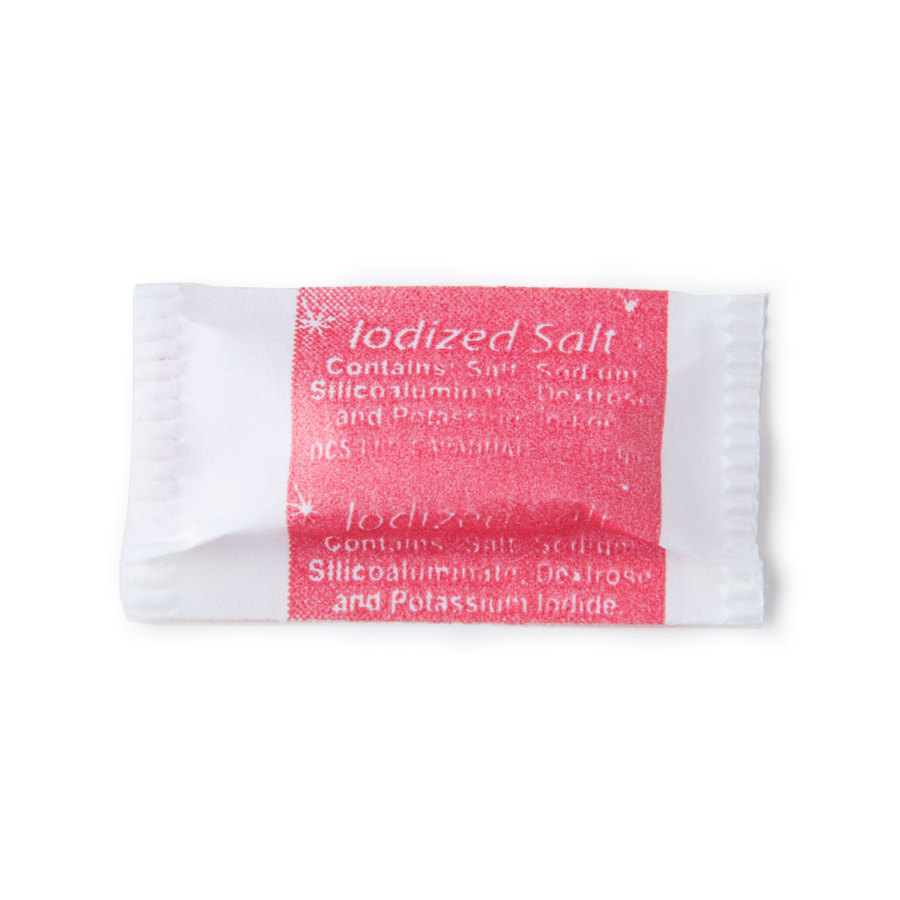 Salt .6 Gram Portion Packet 3000/Case