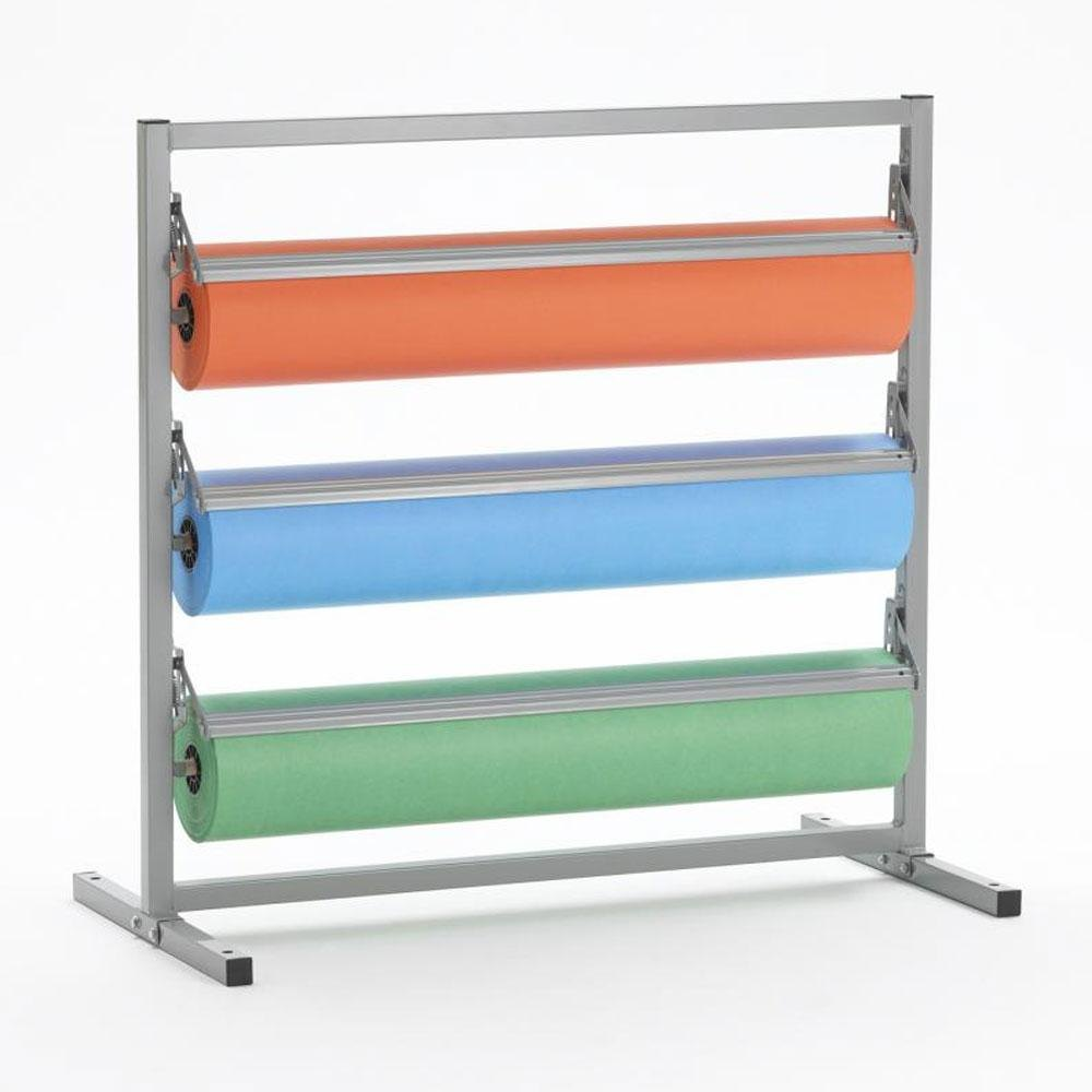 "Bulman Products Inc. Bulman T368R-18 18"" Three Deck Tower Paper Rack with Straight Edge Blade at Sears.com"