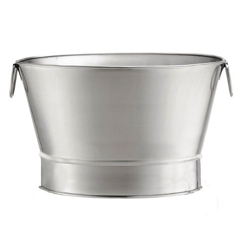 Tablecraft BT21 Stainless Steel Beverage Tub - 20