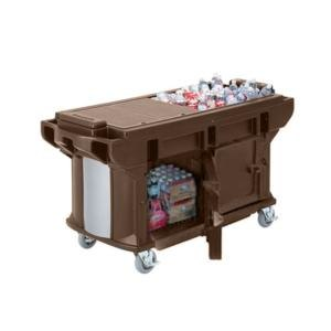 Cambro VBRUTHD6146 Bronze 6? Versa Ultra Work Table with Storage and Heavy-Duty Casters at Sears.com