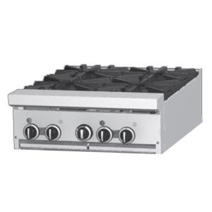 "Garland / US Range Natural Gas Garland GF24-2G12T 2 Burner Modular Top 24"" Gas Range with Flame Failure Protection and 12"" Griddle - 70,000 BTU at Sears.com"