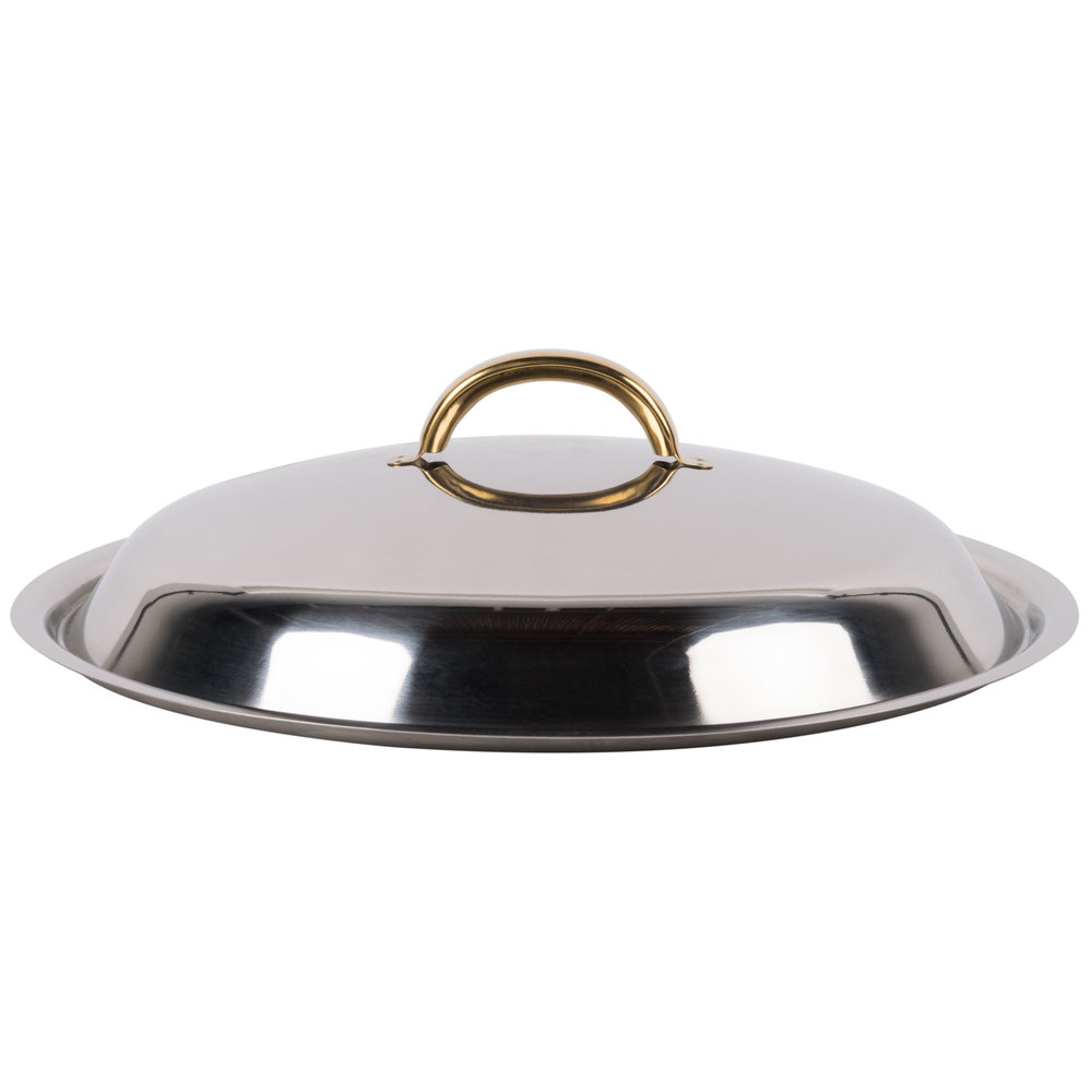 Choice 8 Qt. Deluxe Round Soup Chafer Cover
