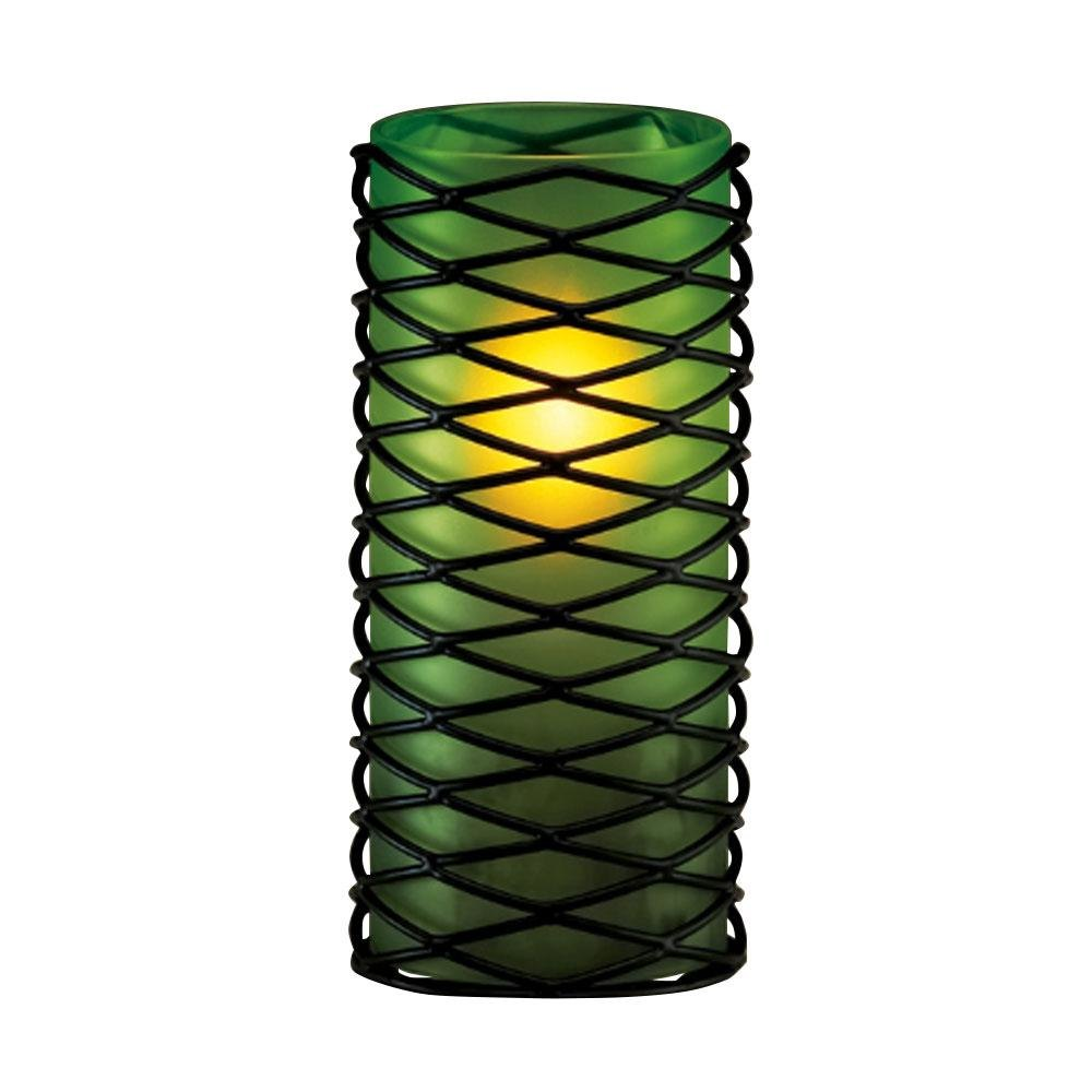 Sterno Products 85314 Green Frost Cylinder Globe