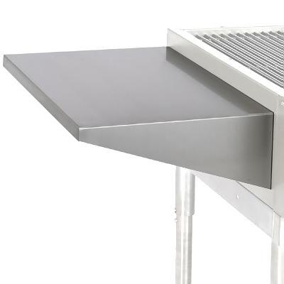 "Star UMS72 7"" Extended Plate Shelf for 72"" Wide Ultra Max Equipment"
