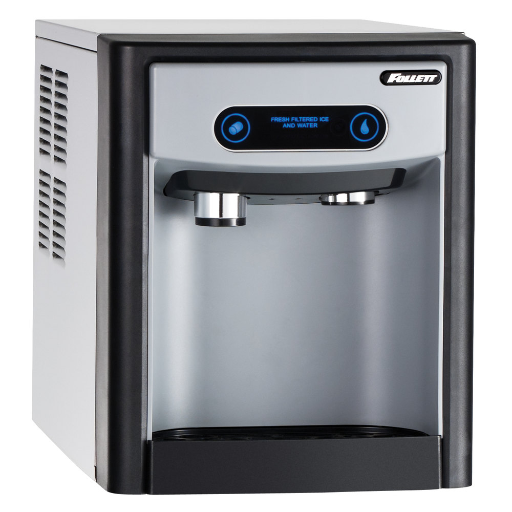 Follett 7CI100A 7 Series Countertop Ice Maker and Water Dispenser with 7 lb. Storage Capacity - 115V