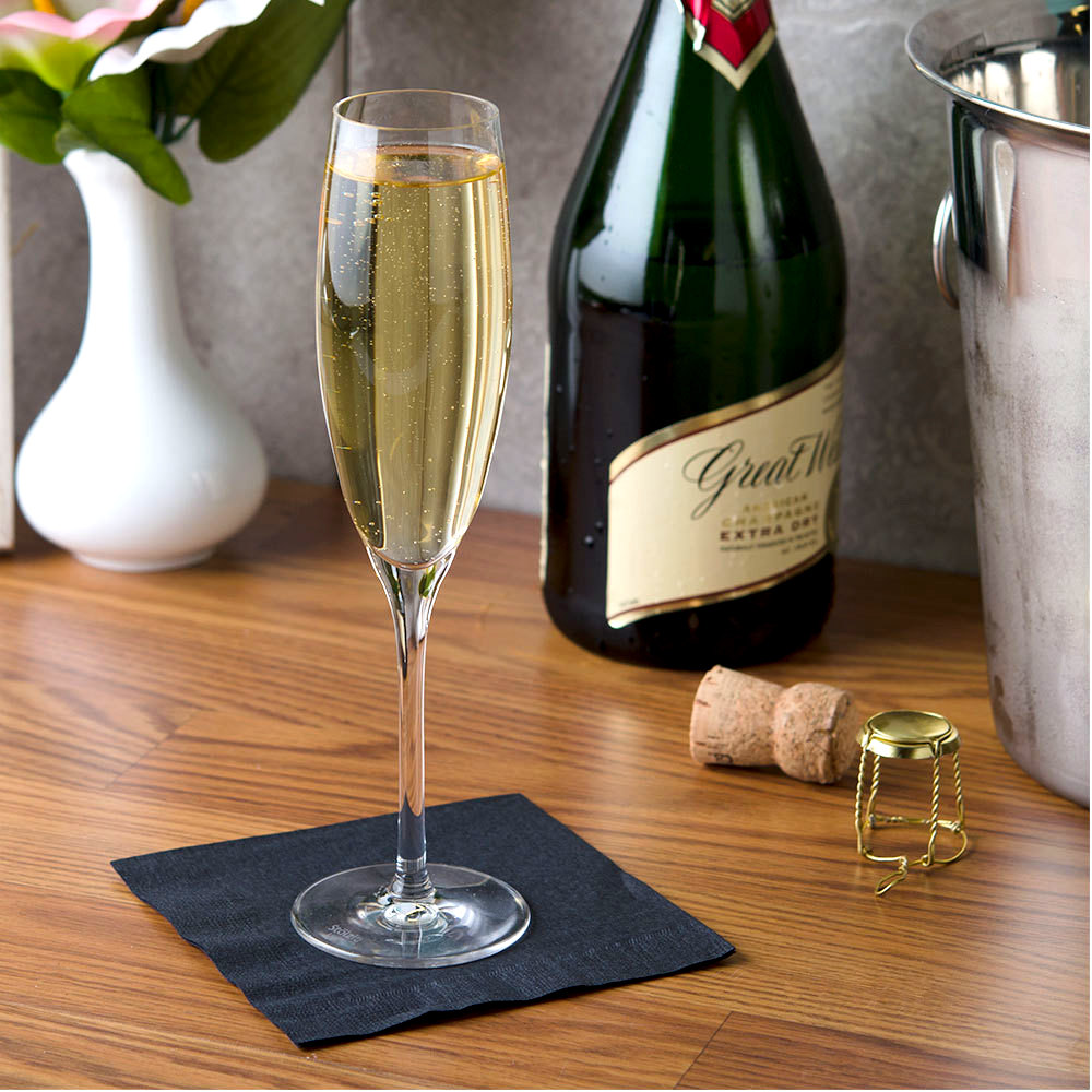 Anchor Hocking Stolzle 2150017T Classic 5 3/4 oz. Champagne Flute - 6/Pack