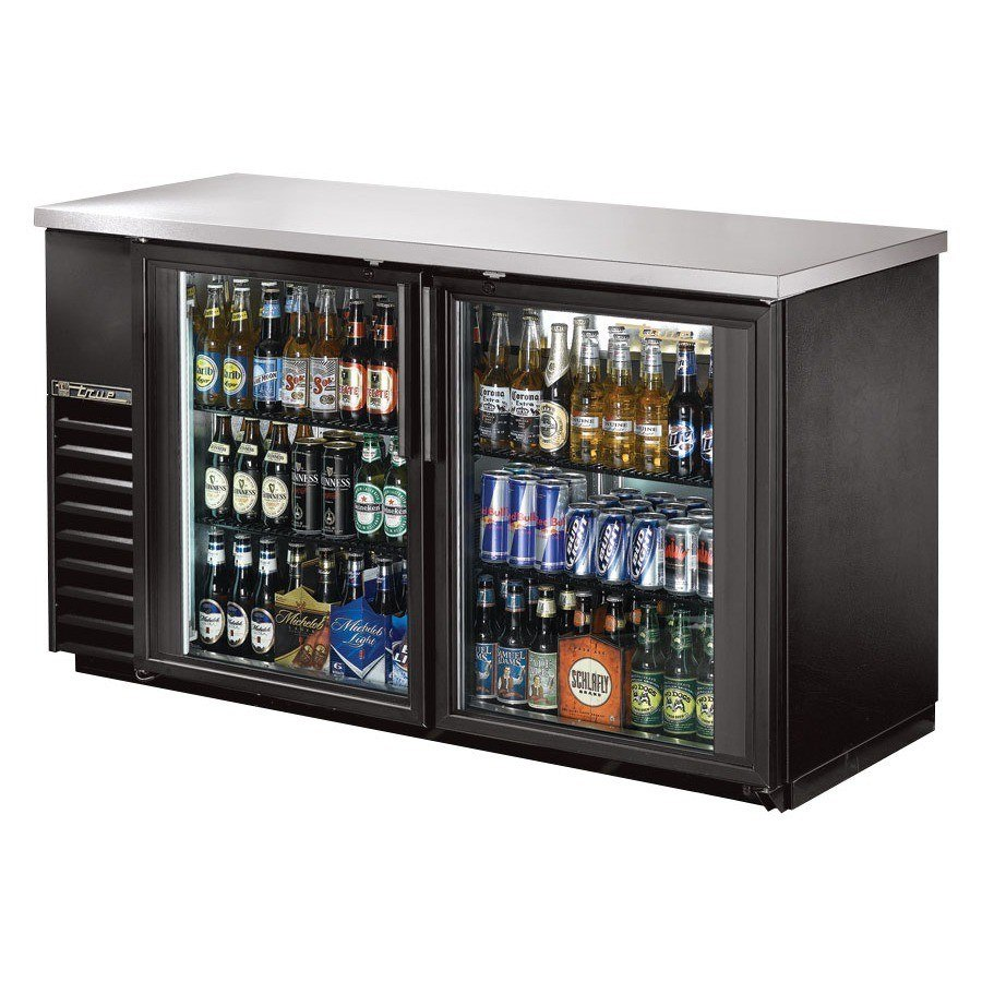 "True Refrigeration True TBB-24-60G 60"" Back Bar Refrigerator with Glass Doors at Sears.com"