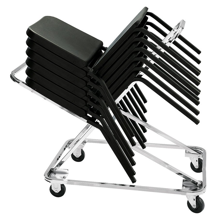 national public seating dy-82 melody stack chair dolly