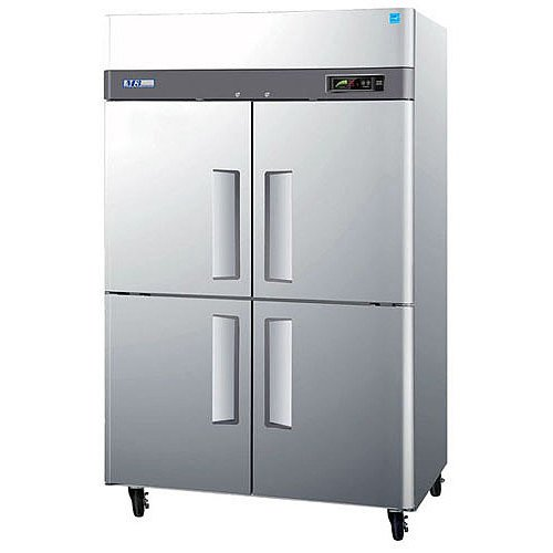 Turbo Air M3F47-4 51 inch M3 Series Four Half Door Reach In Freezer - 47 Cu. Ft.