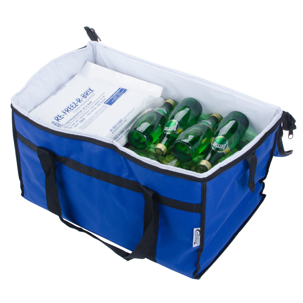 Choice Soft Sided Insulated Cooler Bag - Blue Nylon