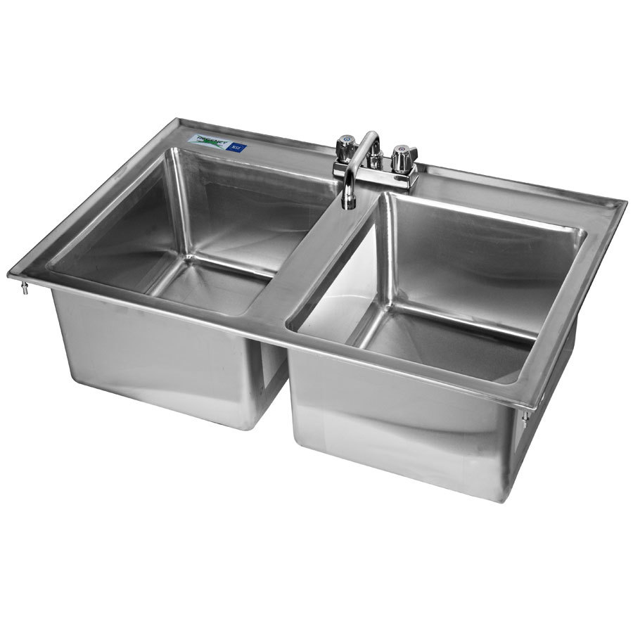 16 Gauge Stainless Steel Sink : 14