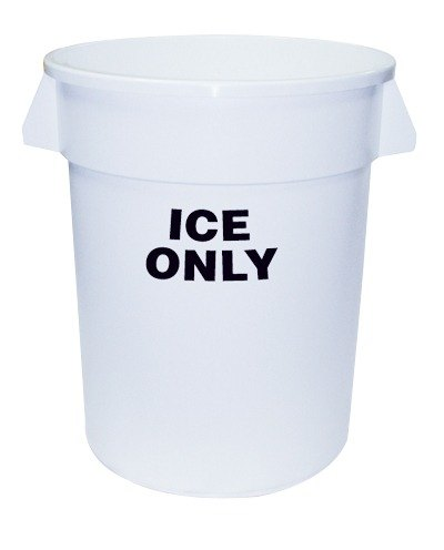 Continental 1001-ICE 10 Gallon White Ice Bucket