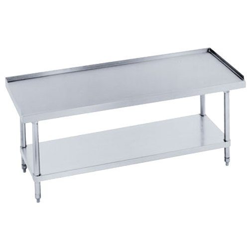 "Advance Tabco ES-305 30"" x 60"" Stainless Steel Equipment Stand with Stainless Steel Undershelf"