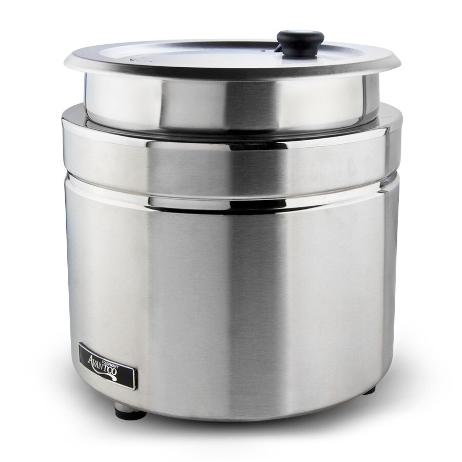 Avantco W800 11 Qt. Countertop Warmer - Stainless Steel, 120V