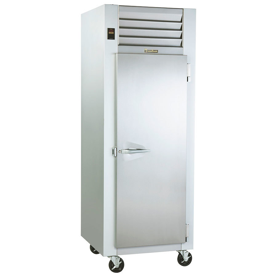 Traulsen g10010 30 g series one section solid door reach for 1 door chiller