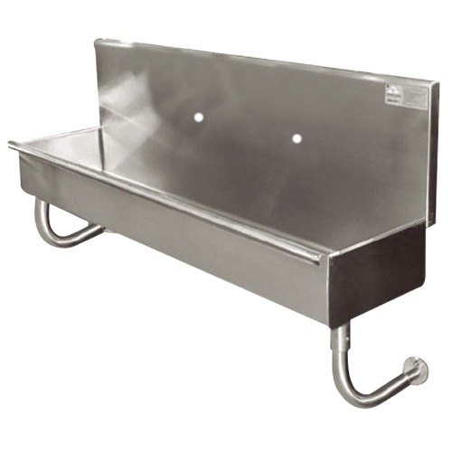 "Advance Tabco 19-18-23 Multi-Station Hand Sink One Faucet - 20"" x 17 1/2"""