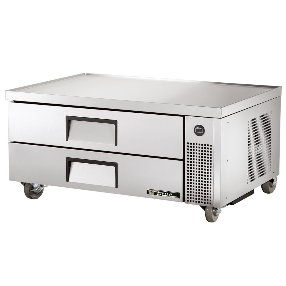 "True TRCB-52 52"" Two Drawer Refrigerated Chef Base"