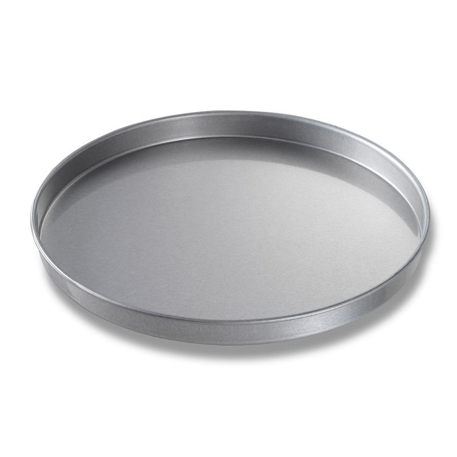 "Chicago Metallic 41400 14"" x 1"" Aluminized Steel Round Cake Pan / Pizza Pan"