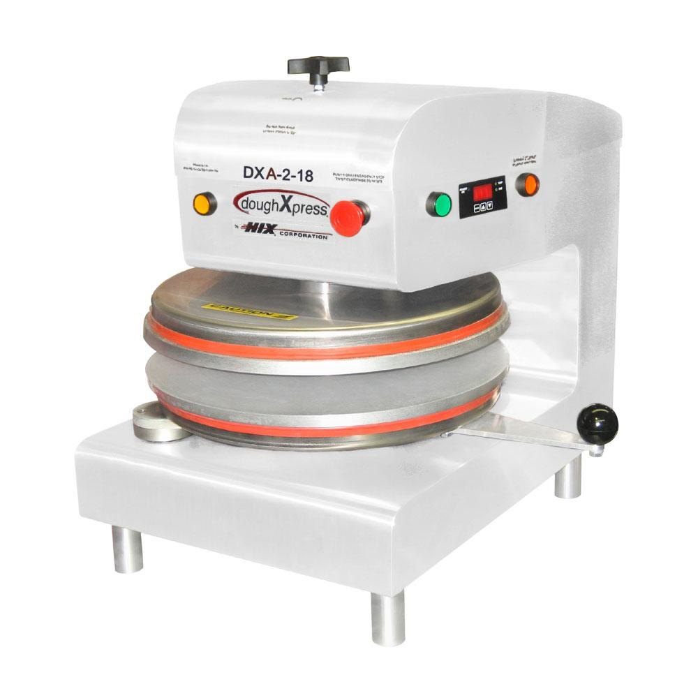 "DoughXpress D-TXA-2-18-WH Dual Heat Round Air Automatic Tortilla Press 18"" - White, 220V at Sears.com"