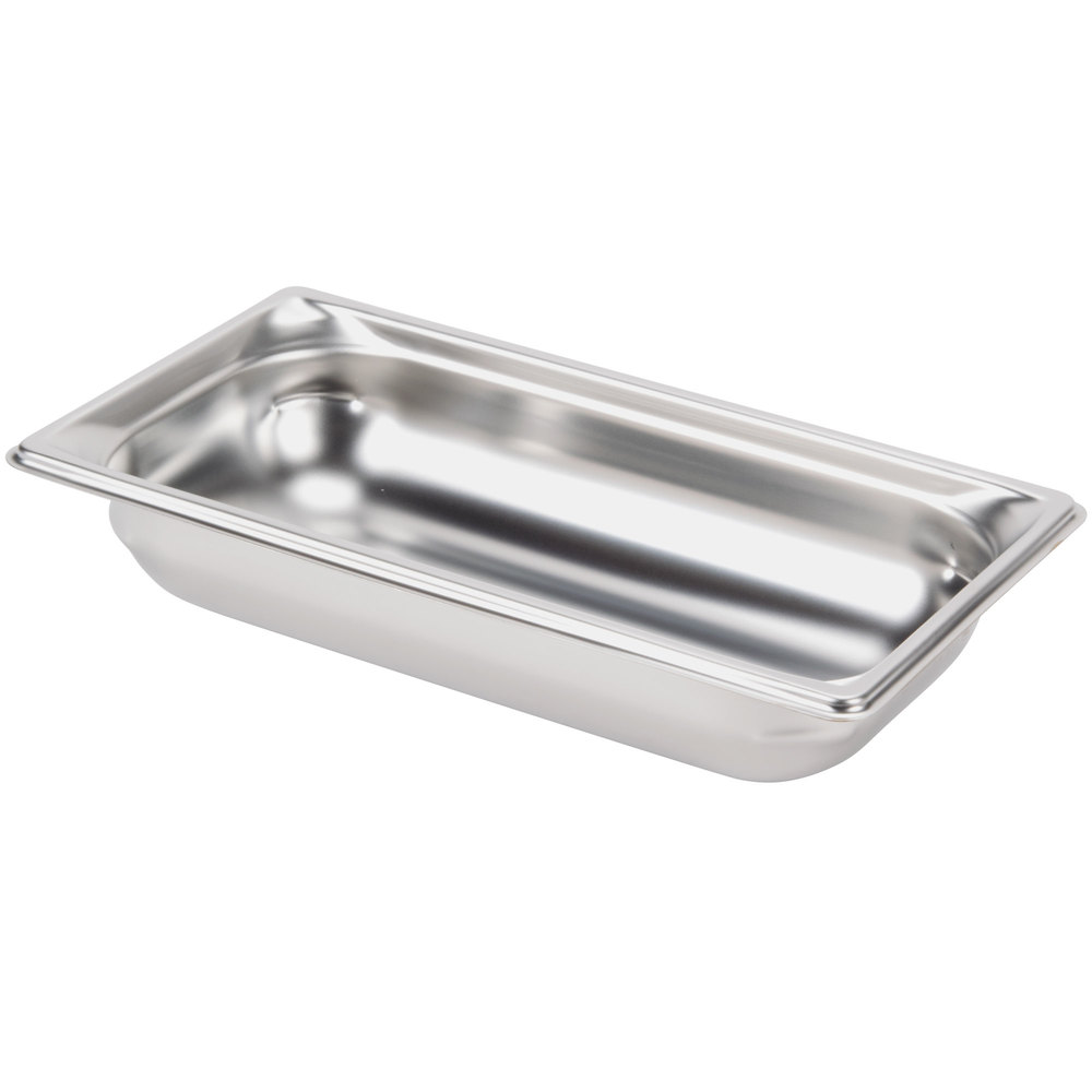 "Vollrath Super Pan 3 90322 1/3 Size Anti-Jam Stainless Steel Steam Table Pan - 2 1/2"" Deep"