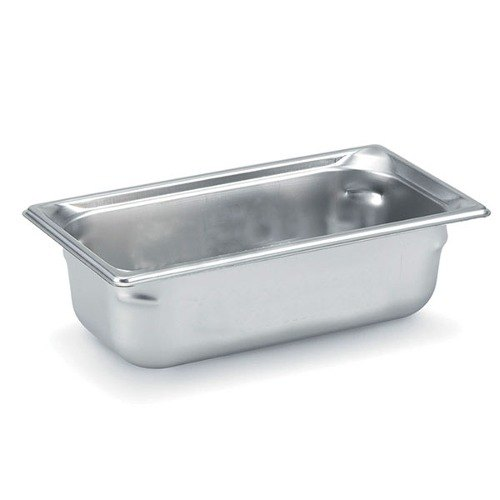 Vollrath 90322 Super Pan 3 Stainless Steel 1/3 Size Anti-Jam Steam Table Pan - 2 1/2 inch Deep