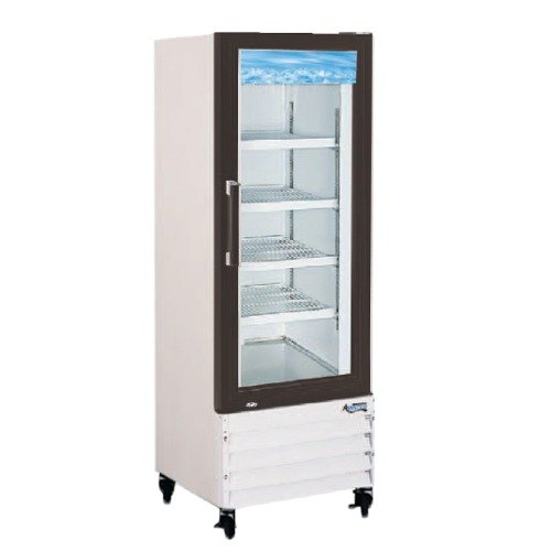 Avantco GDC24F 31 inch Swing Glass Door White Merchandising Freezer