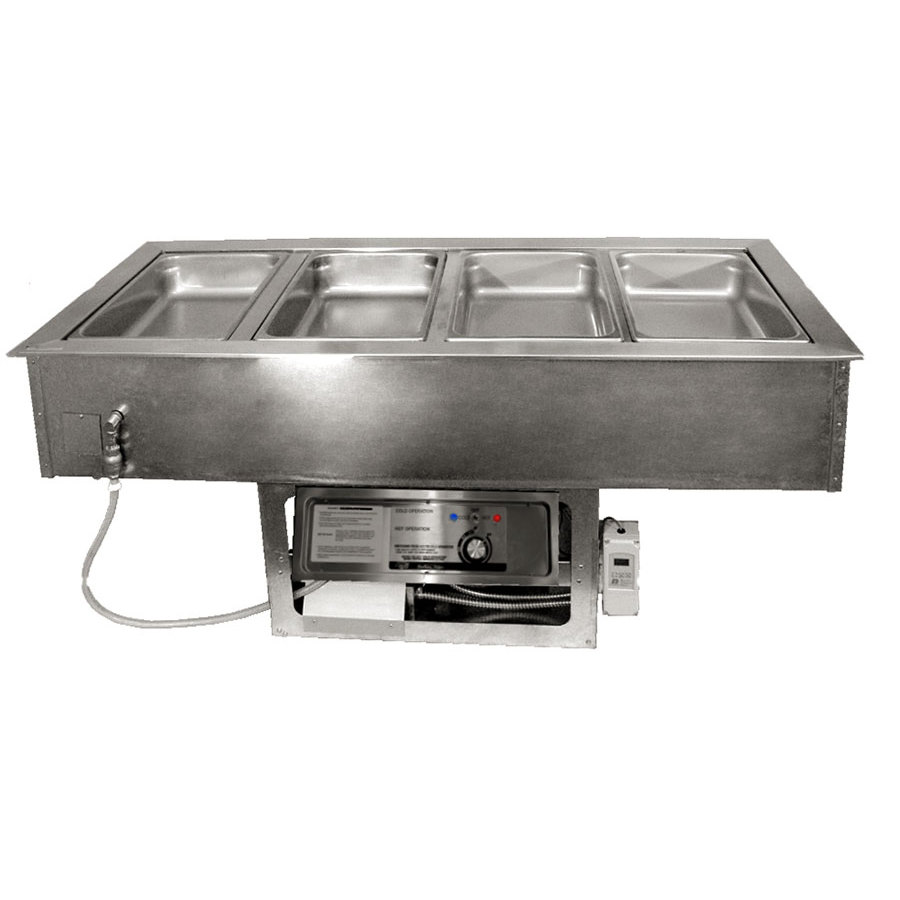 APW Wyott CHDT-2 2 Pan Cold / Hot Dual Temp Well