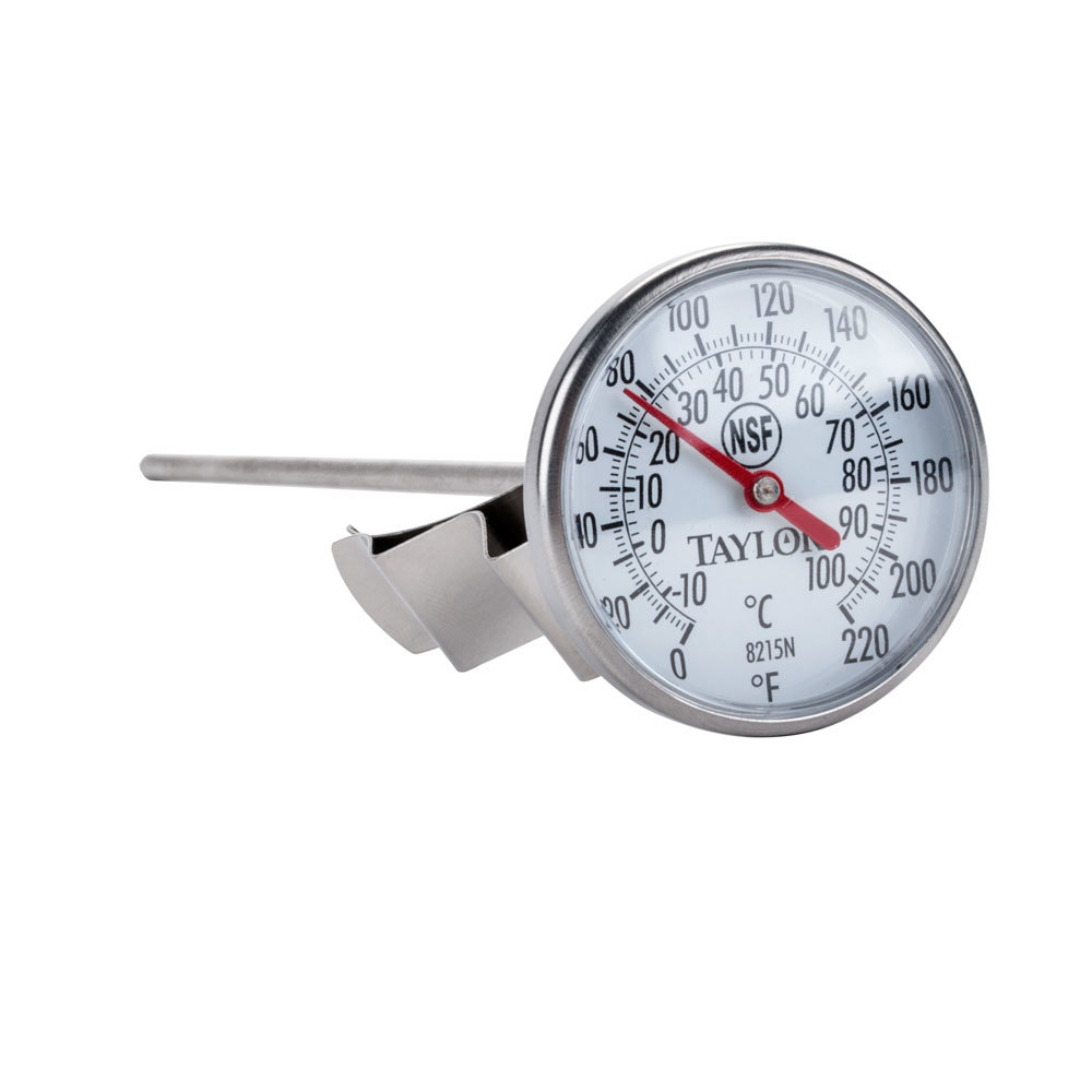 Taylor 8215N Bi-Therm 8 inch Pocket Dial Thermometer