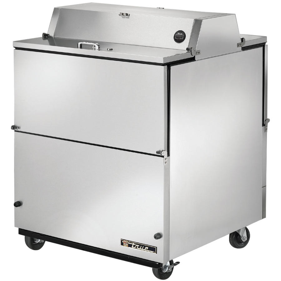 "True TMC-34-S-DS 34"" Stainless Steel Two Sided Milk Cooler"